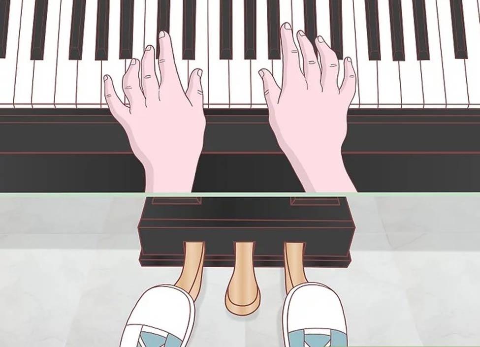 چگونه از پدال پیانو استفاده کنیم